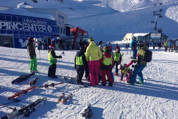 Narty w Austrii z dziećmi