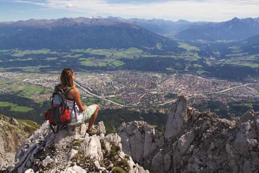 Krajobraz okolic Innsbrucka