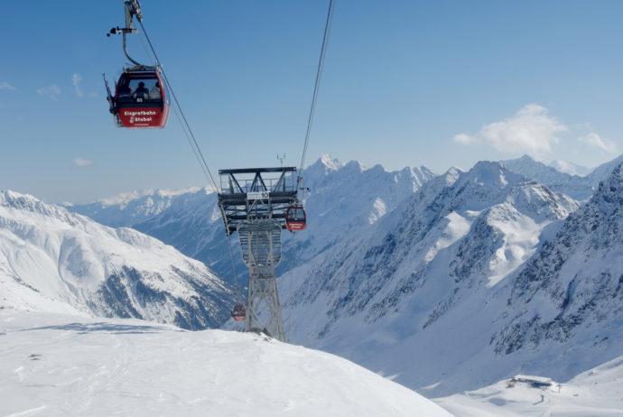 Lodowiec Stubai Ort: Stubai Tirol