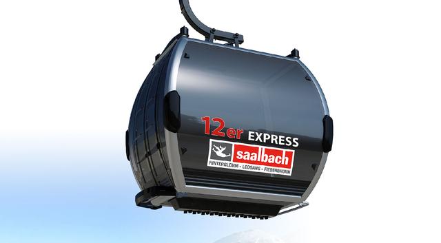 12er Express - nowa kolej w Saalbach