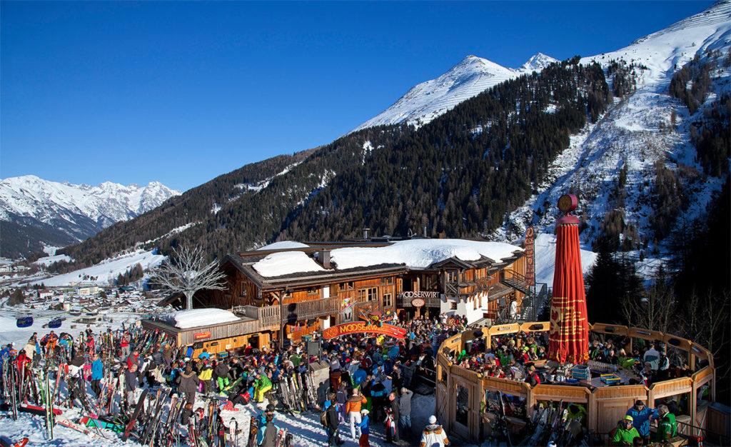 Apres-ski w Sant Anton