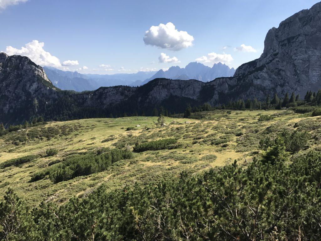 Góry latem w Austrii