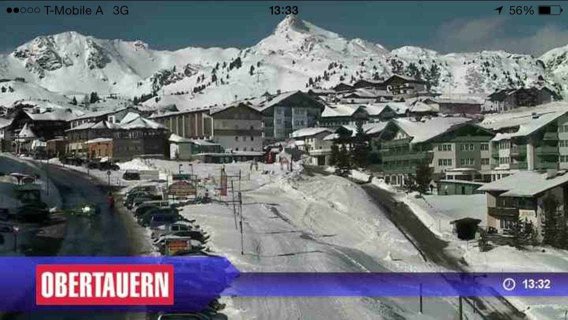 Widok z kamery Obertauern