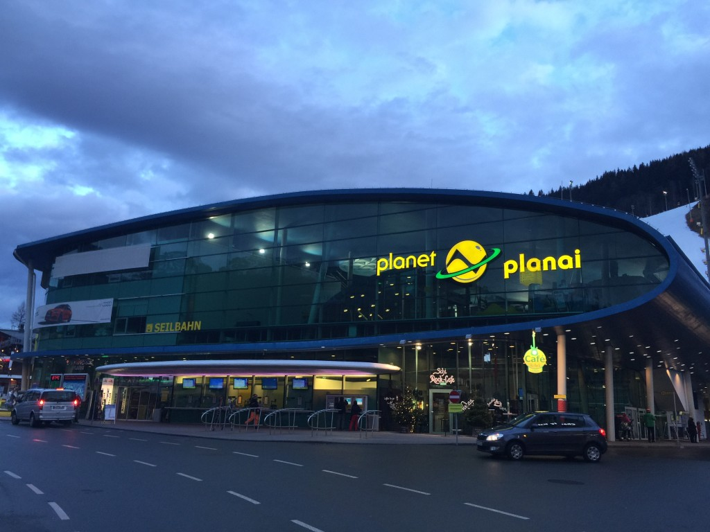 Dolna stacja Schladming Planai
