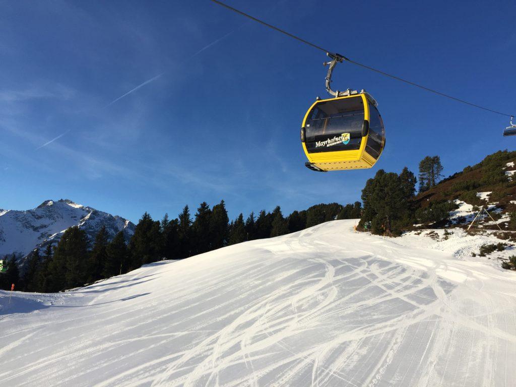 Mayrhofen Austria Narty