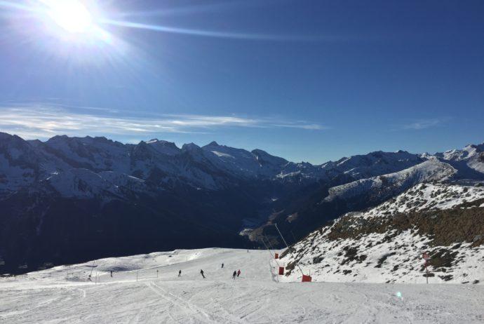 Warunki narciarskie w Austrii styczeń 2017