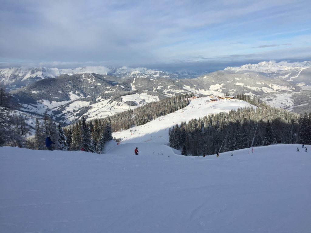 Wagrain trasy narciarskie